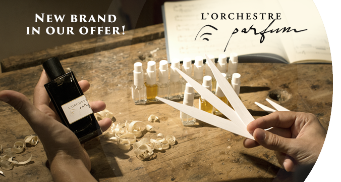 L`Orchestre Parfum - New brand in our offer